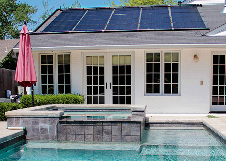 Solar Pool Heating Collector